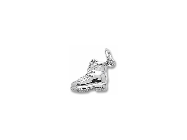 Sterling Silver Hiking Boot Charm by Rembrandt Charms